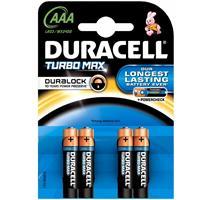 Duracell Turbo Max AAA balení 4ks 10PP100015