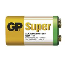GP Super Alkaline 9V (1ks)