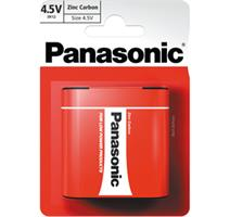 PANASONIC 3R12 1BP 4,5V Red zn