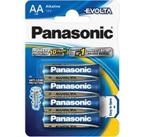 PANASONIC LR6 4BP AA Evolta Alkalické