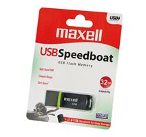 MAXELL USB FD 32GB 2.0 Speedboat black