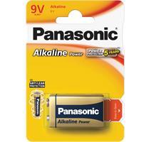 PANASONIC 6LR61 1BP 9V Power Alkalická