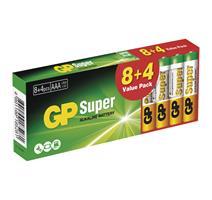 GP BAT. SUPER LR03 8+4DB B1310T2