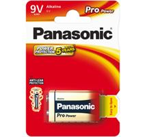 PANASONIC 6LR61 1BP 9V Pro Power alk